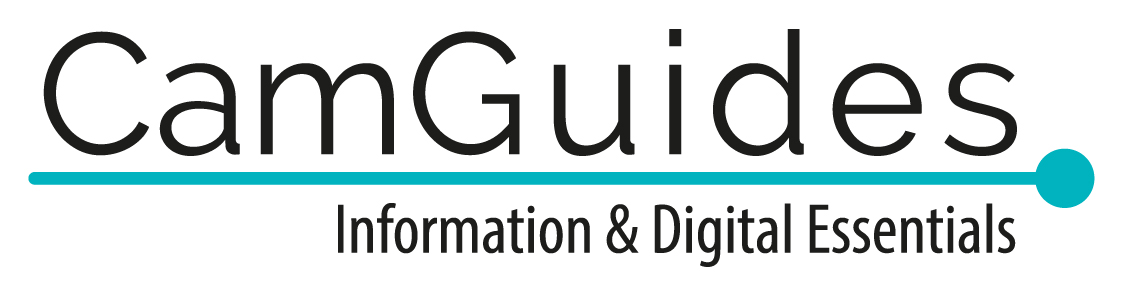 CamGuides information and digital essentials