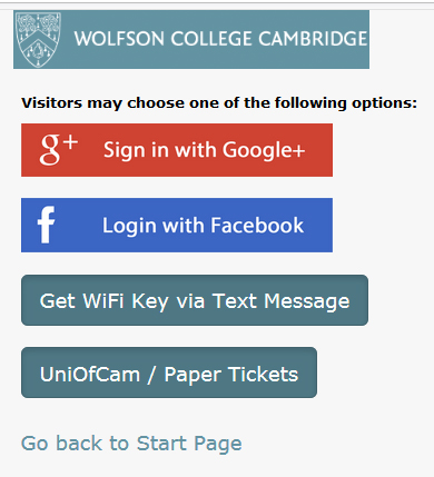 Visitors/Alumni/Guest/UniofCam Ticket
