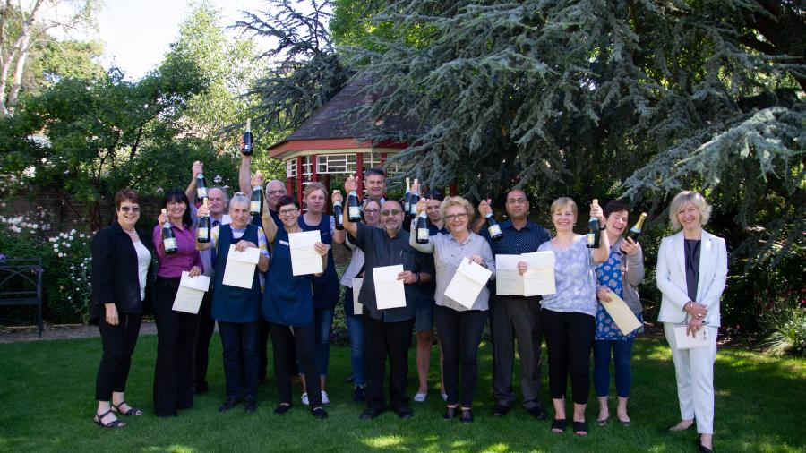 Staff long service awards
