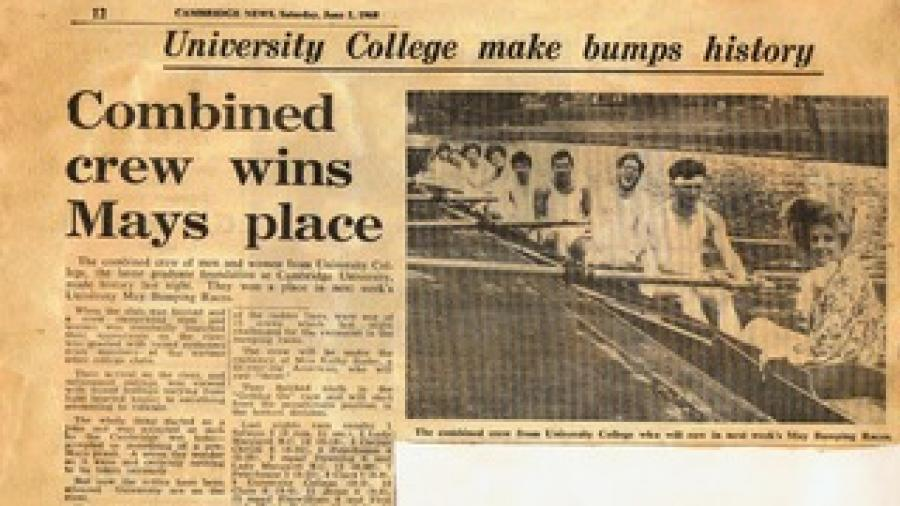 Cambridge News 1968 May Bumps
