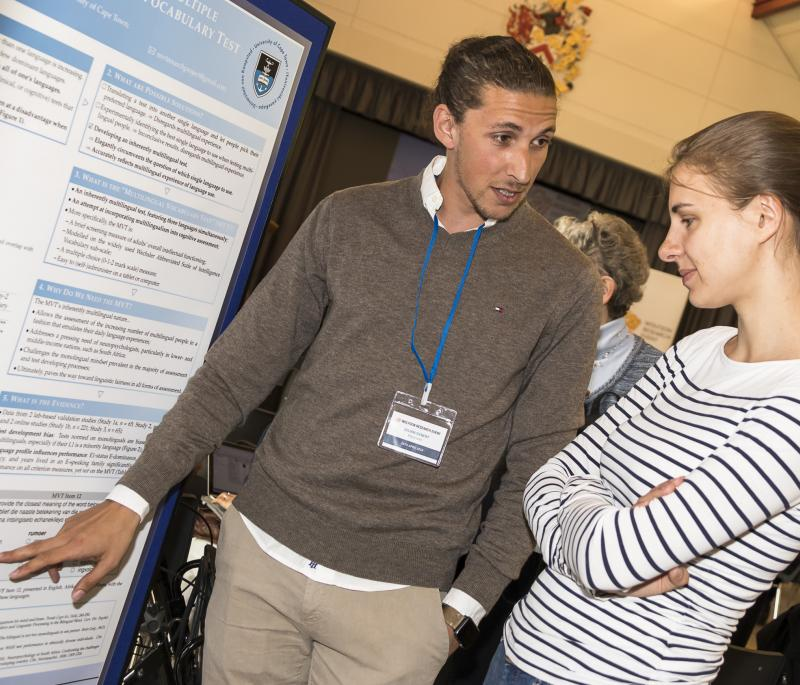 Poster presentation at Wolfson Research Event