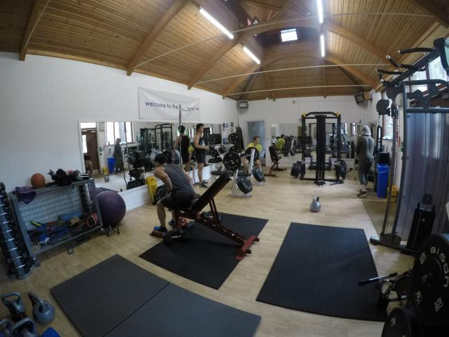 The gym in 2018 after renovation, by Fiona Gilsenan