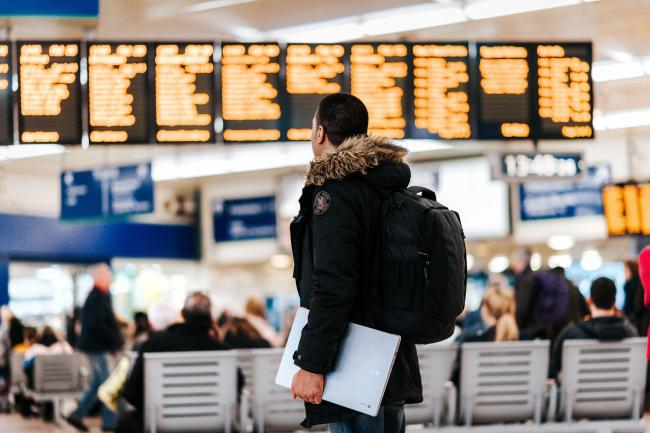 Travel in airport by Anete Lusina/Unsplash
