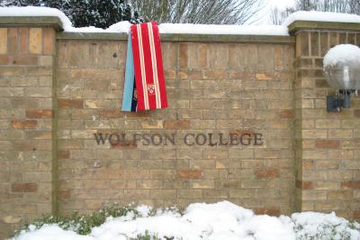 Wolfson in snow