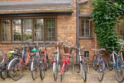 Bicycles at Bredon House