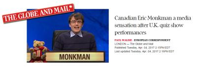 Eric Monkman Canadian