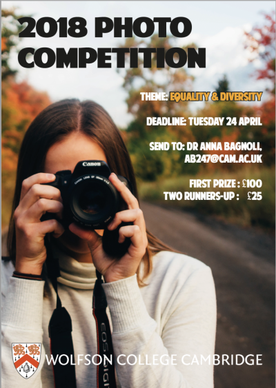 poster for photo competition in 2017