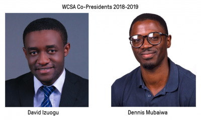WCSA presidents 2019 Dennis Mubaiwa and David Izuogu