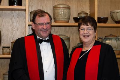 Professors Duncan Maskell and Jane Clarke
