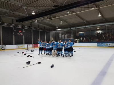 Cambridge University Ice Hockey win 2019