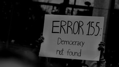 Error 155 democracy