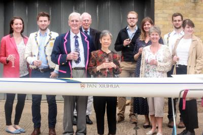 Naming the new double scull
