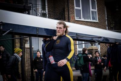 Claudio Ravasio represents Wolfson College Boat Club at the Head of the River Race, 2016