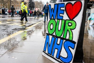 We love the NHS by John Gomez