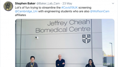 Baker Lab tweet